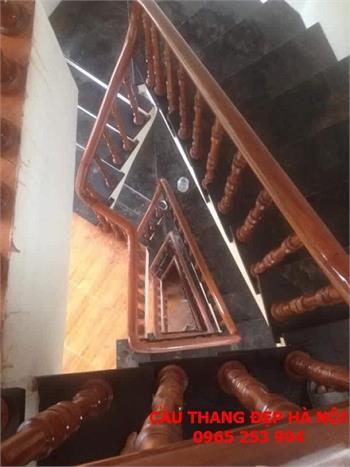 Mẫu Cầu thang gỗ đẹp 22