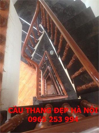 Mẫu Cầu thang gỗ đẹp 21