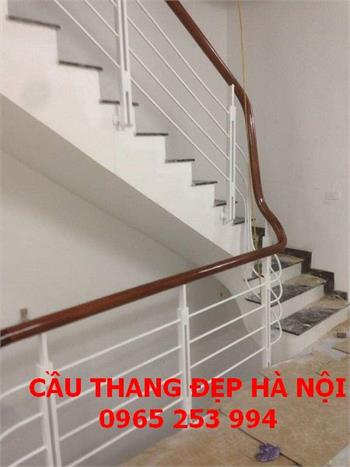 Mẫu cầu thang sắt đẹp 14