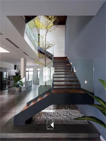 Mẫu Cầu thang sắt đẹp 16